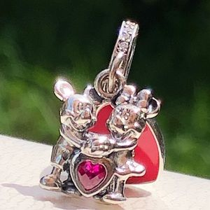 Pandora Minnie & Mickey With Love Dangle